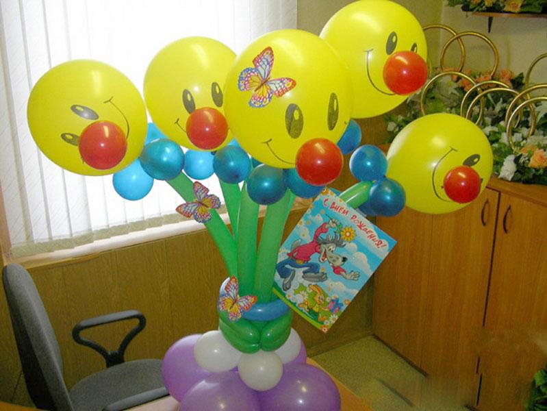 Фигуры из воздушных шаров для ребенка